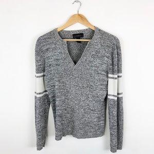 Express Vintage Varsity Sweater